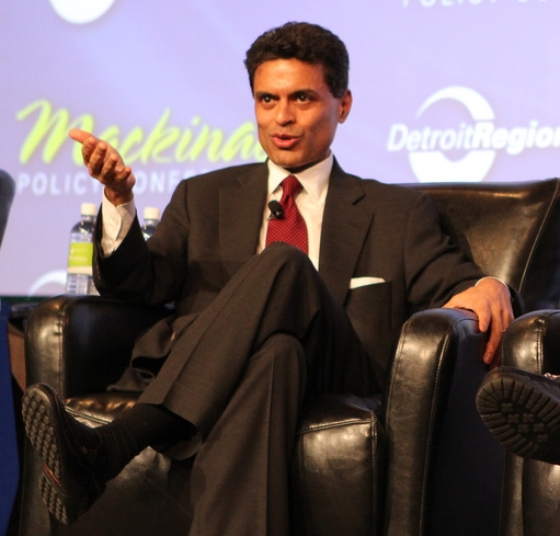 "Image: Serial plagiarist CNN's Fareed Zakaria calls president ""bulls**ter"" several times on air – Trump derangement syndrome is real"