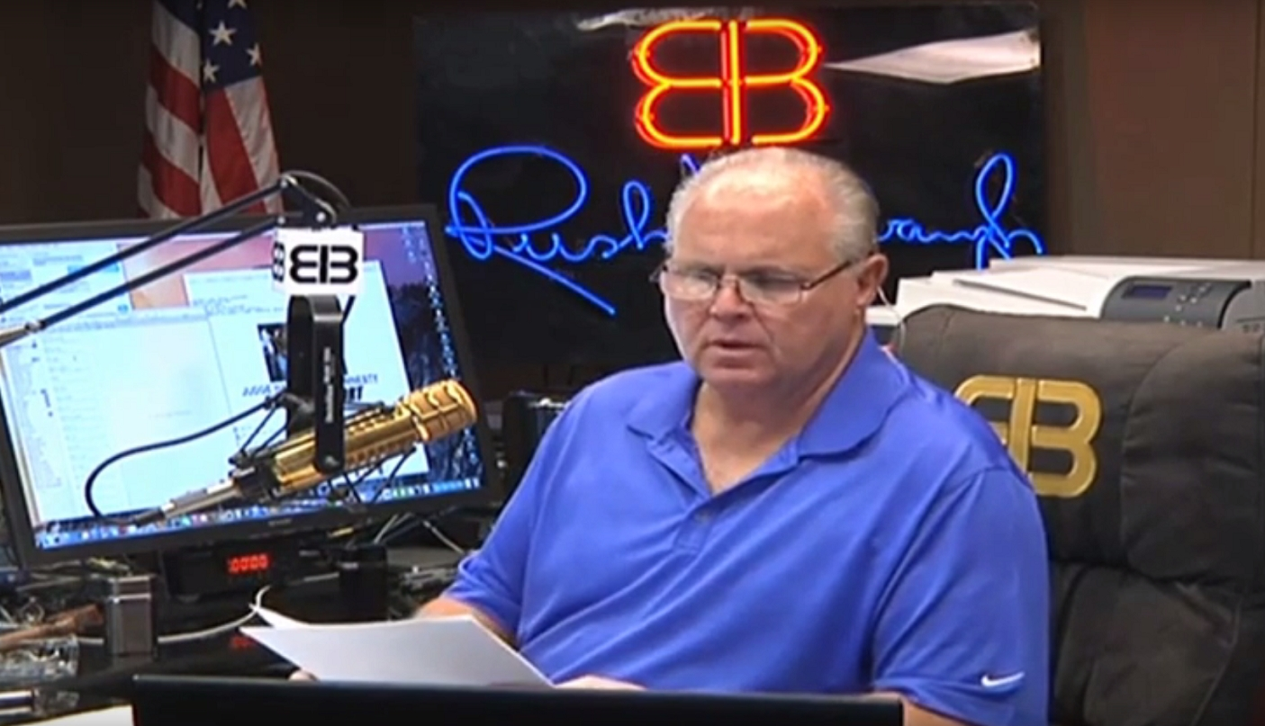 Rush Limbaugh Is Completely Full Of Crap About Iphones