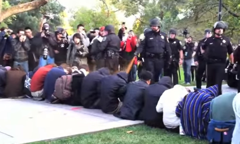 UC Davis spent $175,000 in attempts to hide online reports of students being pepper sprayed in the face by campus police