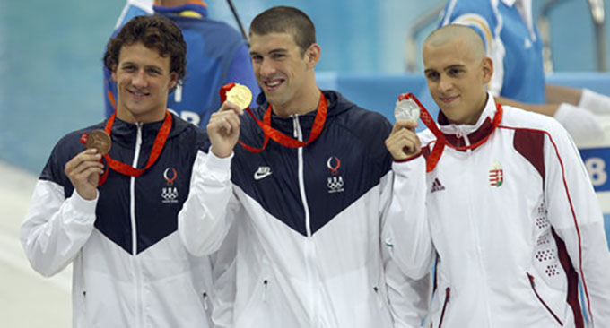 Image: Michael Phelps earns his trip to Rio: first male swimmer to ever qualify for 5 Olympics