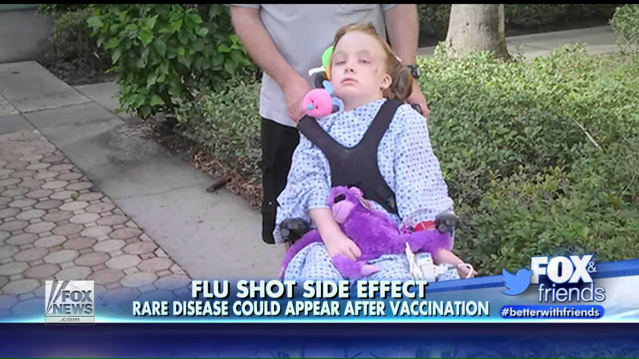 (VIDEO)A healthy, 9-year old Florida girl was paralyzed by the flu shot