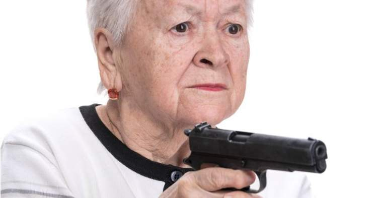 Anti-gun zealots now trying to disarm the elderly JUST BECAUSE THEY'RE OLD