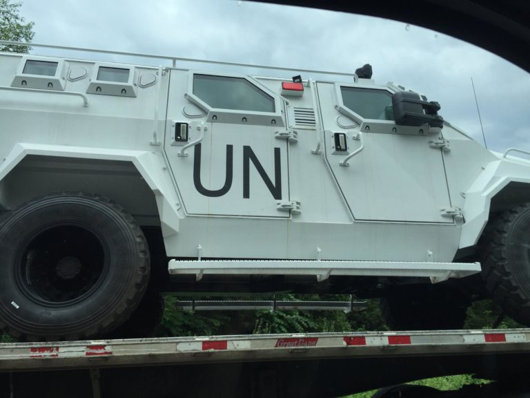 Image: United Nations just gave their troops the go ahead to 'use force' on U.S. citizens
