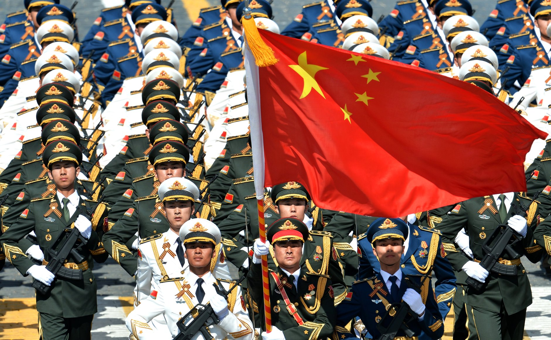 Image: China makes it illegal to insult 'heroes and martyrs' of its Communist Party