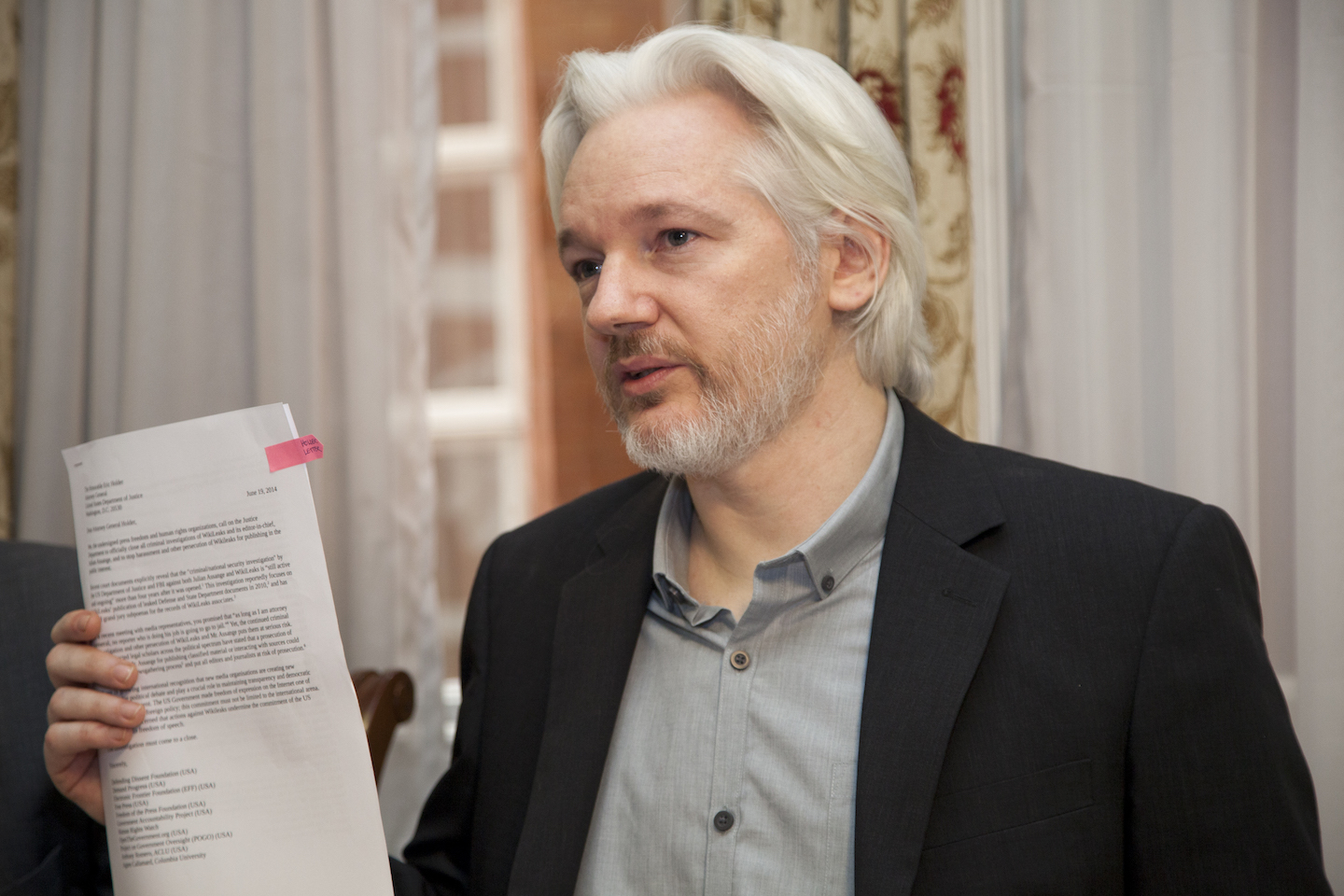 Feds plan on arresting WikiLeaks' Julian Assange; Shouldn't they also arrest these reporters from NY Times, WaPo, The Guardian and CNN?