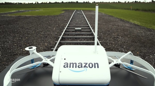 Image: Amazon PrimeAir's drone delivery service will cover our skies and feed our need for 'instant gratification'