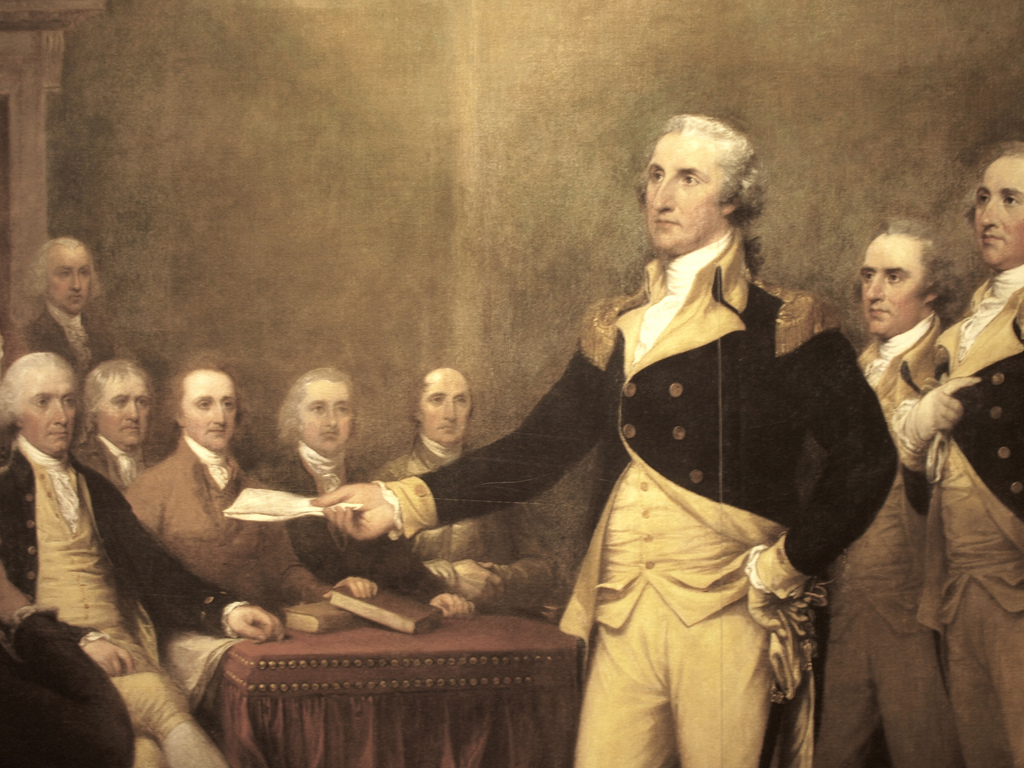 Image: George Washington rolls in his grave as university named after him stops requiring U.S. history course
