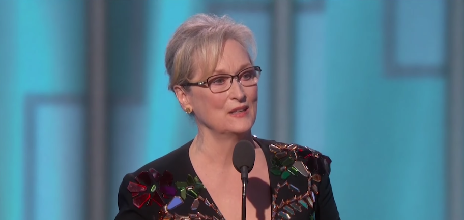 Image: Hollywood's favorite Clinton-supporter Meryl Streep goes on self-righteous rant about Trump at the Golden Globes