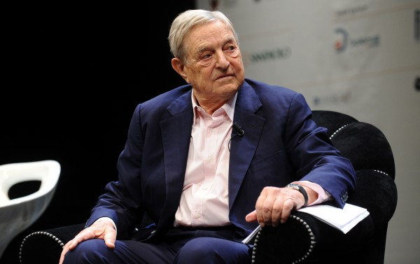 Image: The most corrupt impostor of all time, George Soros, calls Trump a 'would-be dictator' who 'is going to fail'