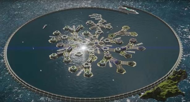 A new atlantis floating nation being built in the pacific come 2020 a part of pacific ocean will serve as the base for the worlds first floating nation thats the plan of the seasteading institute sciox Gallery