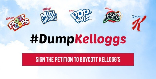Image: Same cereal company that doesn't want GMOs listed on the label also doesn't want positive ID required for voters