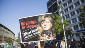 'Merkel must go' march in Berlin