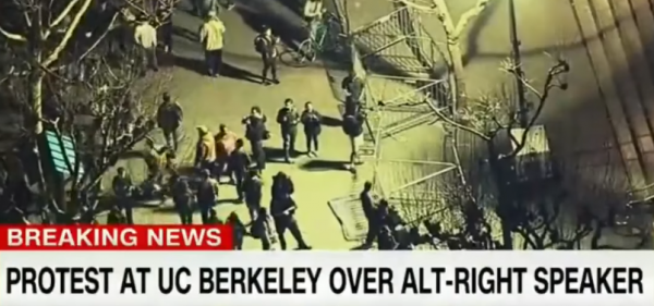 Image: Tyrannical Leftists at UC-Berkeley once again cancel Ann Coulter's speech – where's that coward, Gov. Jerry Brown?