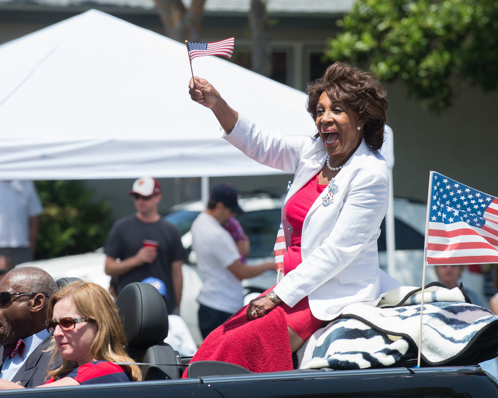 "According to Maxine Waters, Ben Carson is a ""White Nationalist"" … even though he's black"