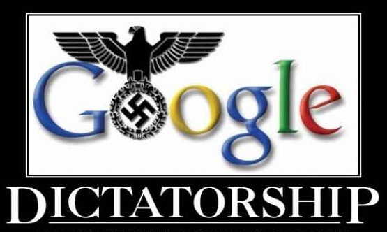 Image: Is Google seeking to control the entire internet and execute a news blackout?