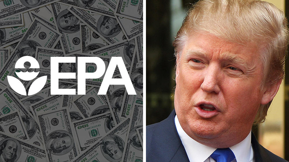 Image: President Trump to slash budgets of EPA, USDA and HHS … all corrupt agencies that betray America to corporate interests