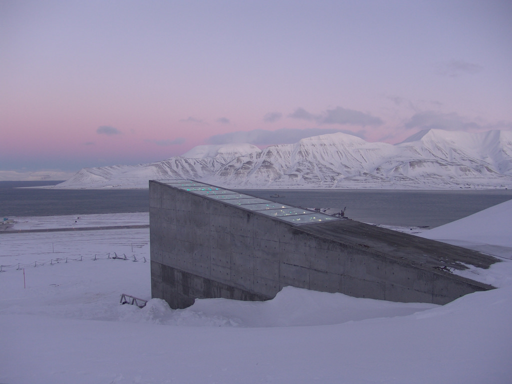 Image: Doomsday library launched in frozen arctic wasteland to protect knowledge from global apocalypse