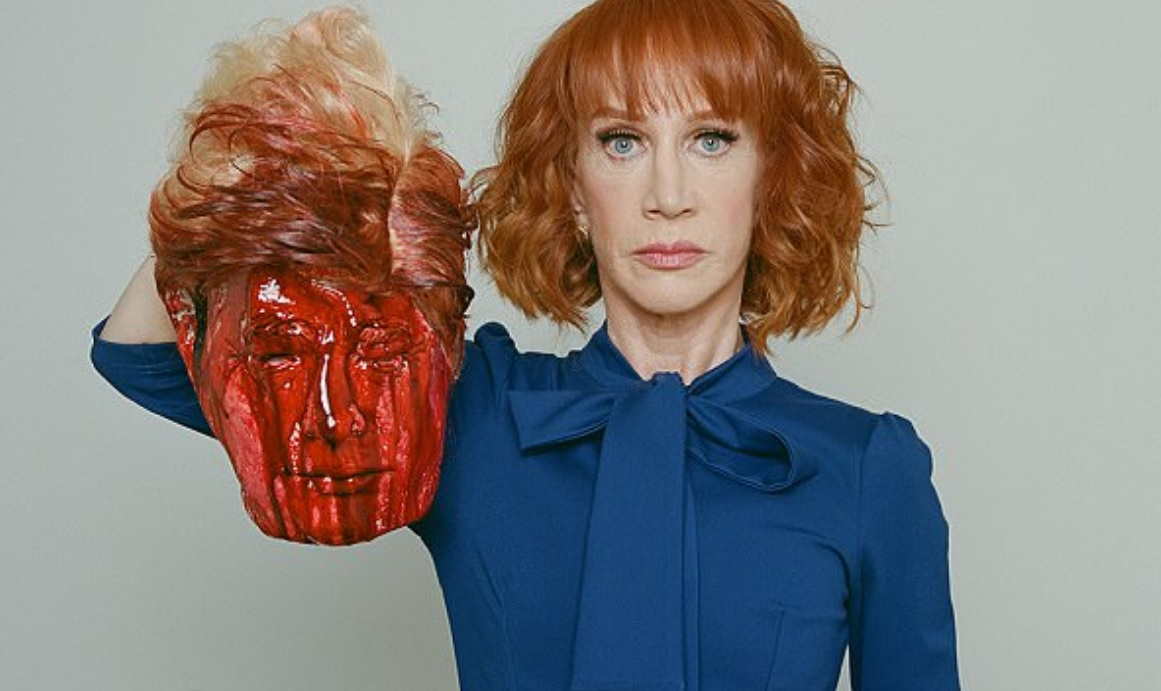 Kathy Griffin joins long list of deranged Democrats who need to be immediately taken into custody for psychiatric evaluation