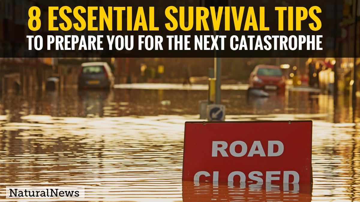 You need to know these 8 essential survival tips to prepare you for the next catastrophe