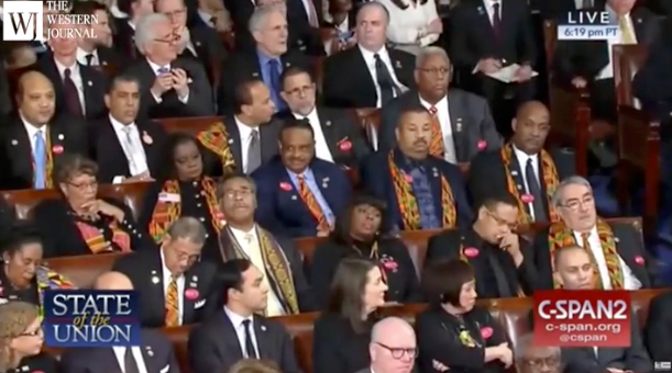 "Young black political commentator SLAMS Democrats-only Congressional Black Caucus, calls them ""slaves"" to their party after Trump SOTU speech"