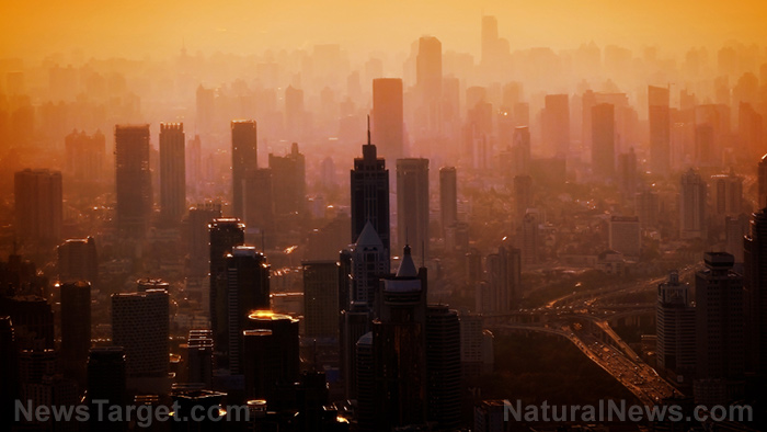 Air pollution levels DROPPING all over the world as coronavirus causes cities and industries to shut down