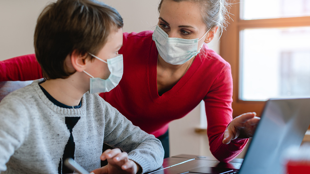 Face masks are effective at STOPPING the spread of the coronavirus through speaking, NIH study finds