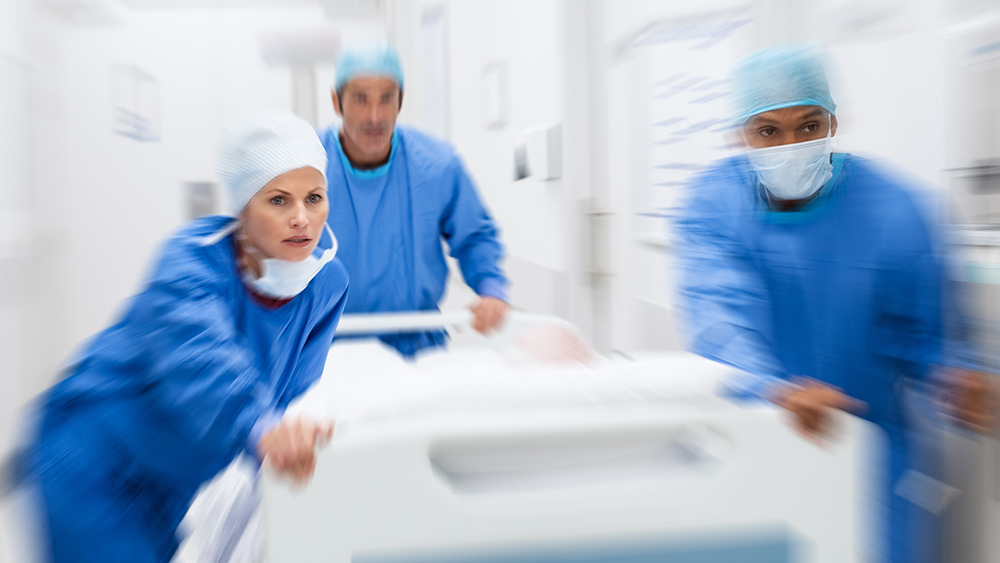LOGIC FAIL: Pandemic denialists who claim hospitals are being paid to fake covid-19 deaths can't explain why reported deaths are dramatically FALLING after 7 weeks of lockdowns