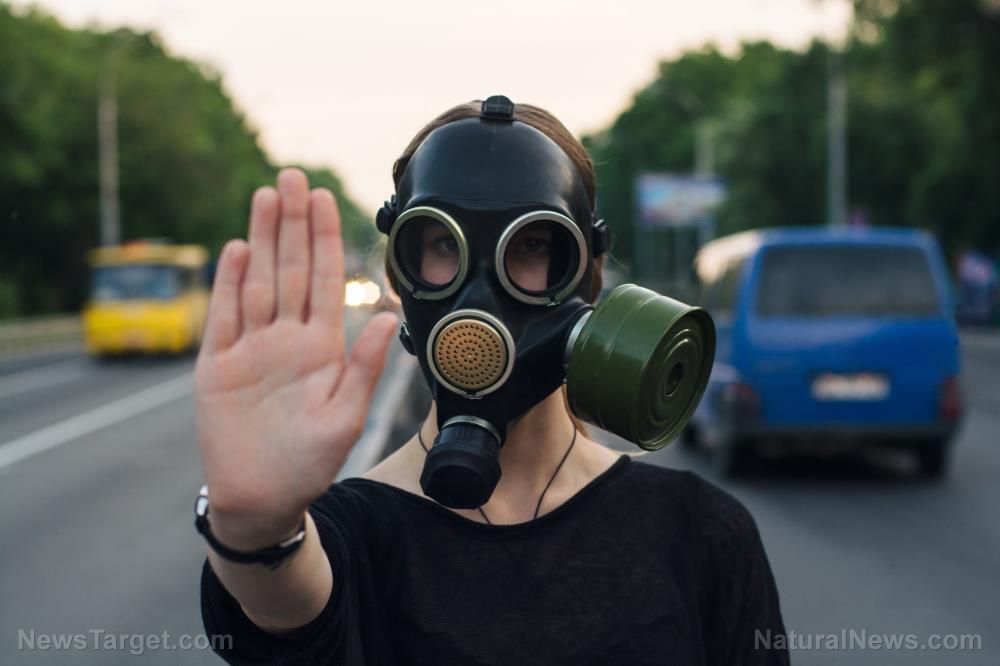 Here's why you need to keep a gas mask on hand
